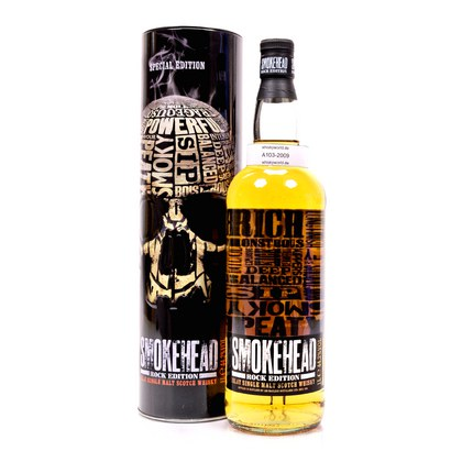 Ian Macleod Smokehead Rock Edition Special Edition ohne Nennung D.A. Literflasche 1 Liter/ 44.20% Vol
