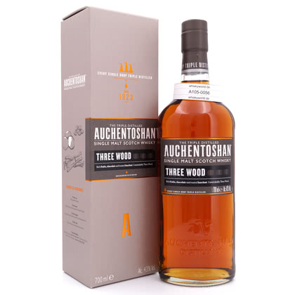 Auchentoshan Three Wood  43.00% 0,70l Produktbild