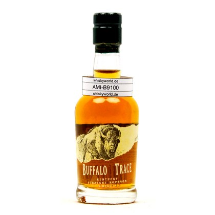 Buffalo Trace Bourbon Miniatur Kentucky Straight Bourbon Whiskey 45.00% 0,050l Produktbild