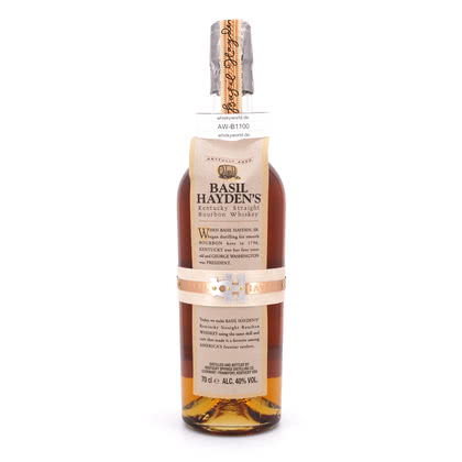 Basil Hayden's Kentucky Straight Bourbon Whiskey  40.00% 0,70l Produktbild