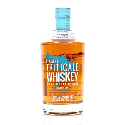 DRY FLY Straight Triticale Whiskey A Rye Wheat Hybrid 0,70 Liter/ 44.00% Vol