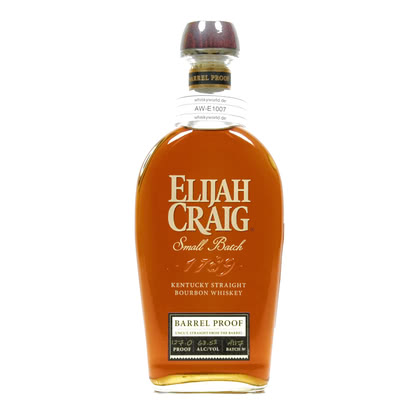 Elijah Craig Barrel Proof Kentucky Straight Bourbon Whiskey 0,70 Liter/ 63.50% Vol