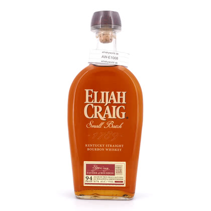 Elijah Craig Small Batch Kentucky Straight Bourbon Whiskey 47.00% 0,70l Produktbild