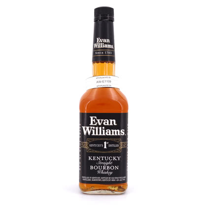 Evan Williams Black Label Sour Mash 43.00% 0,70l Produktbild