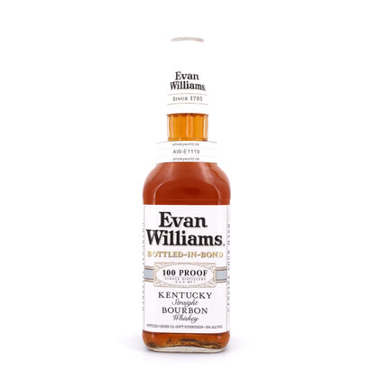 Evan Williams Bottled-in-Bond Kentucky Straight Bourbon Whiskey 50.00% 0,70l Produktbild