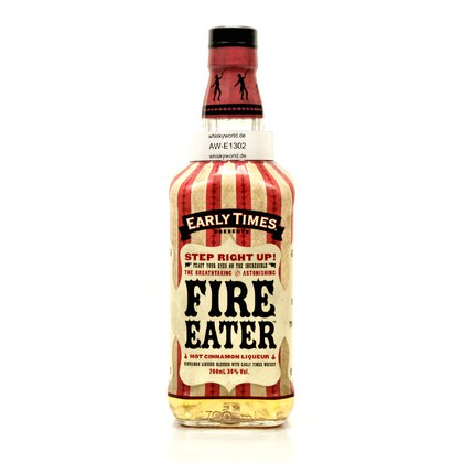 Early Times Fire Eater Hot Cinnamon Liqueur 35.00% 0,70l Produktbild
