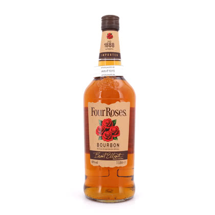 Four Roses Kentucky Straigth Bourbon Whiskey   Literflasche 40.00% 1l Produktbild