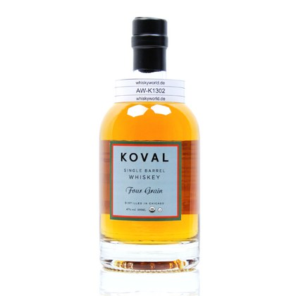 Koval Four Grain Single Barrel Whiskey 0,50 Liter/ 47.00% Vol