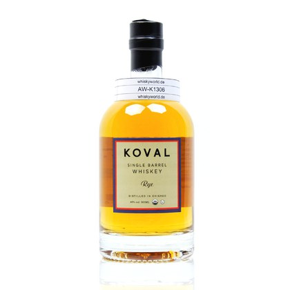 Koval Single Barrel Rye Whiskey 40.00% 0,50l Produktbild