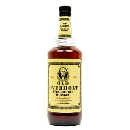 Old Overholt Straigth Rye Whiskey Literflasche 1 Liter/ 40.00% Vol