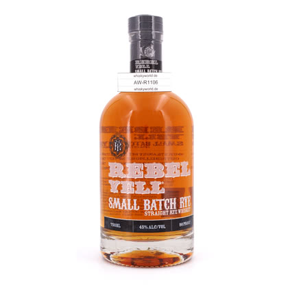 Rebel Yell Small Batch Rye  45.00% 0,70l Produktbild