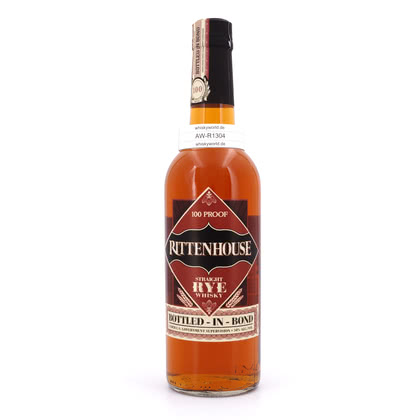 Rittenhouse Rye Bottled in Bond 100 Proof 50.00% 0,70l Produktbild
