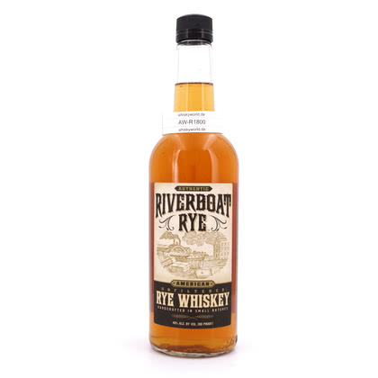 Riverboat Rye Whiskey  40.00% 0,70l Produktbild