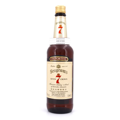 Seagram`s Seven 7 Crown  40.00% 0,70l Produktbild