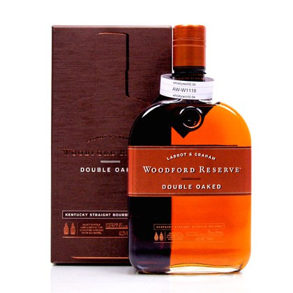 Woodford Double Oaked  0,70 Liter/ 43.20% Vol