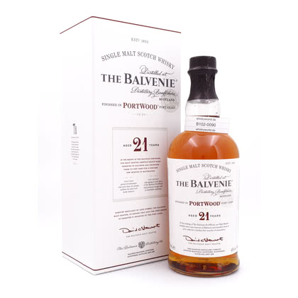 Balvenie 21 Jahre Port Wood finish  40.00% 0,70l Produktbild