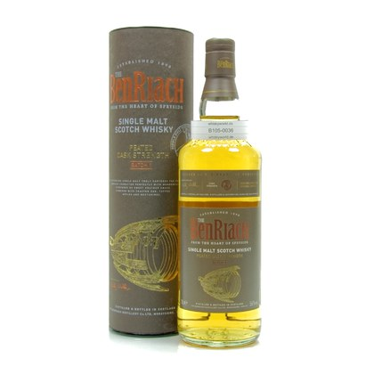 Benriach Peated Cask Strength Batch #1  56.00% 0,70l Produktbild