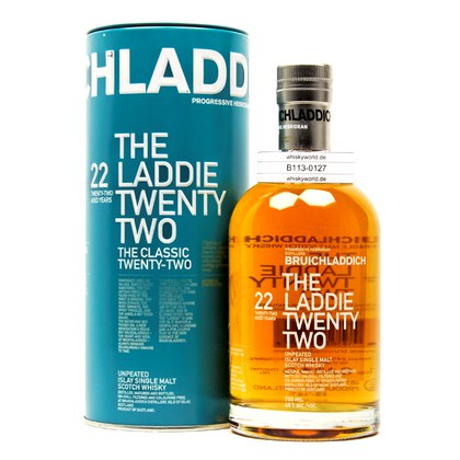 Bruichladdich The Laddie Twenty-Two  46.00% 0,70l Produktbild
