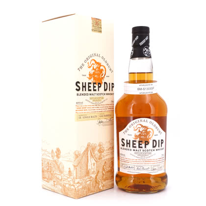Sheep Dip The Original Oldbury Blended Malt Scotch Whisky 40.00% 0,70l Produktbild