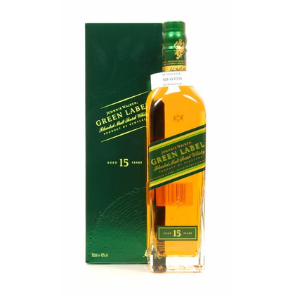 Johnnie Walker 15 Jahre Green Label (Auslaufartikel) 0,70 Liter/ 43.00% Vol