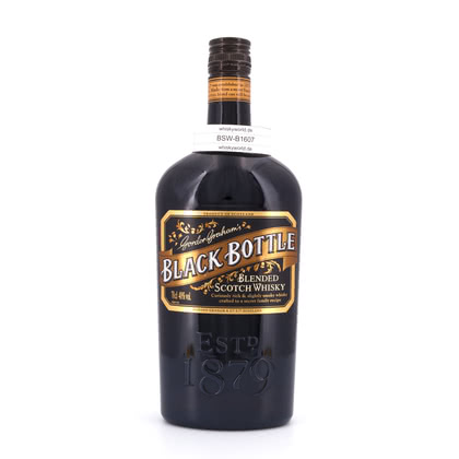 Black Bottle no age  40.00% 0,70l Produktbild