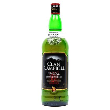 Clan Campbell The noble Scotch Whisky Literflasche 1 Liter/ 40.00% Vol
