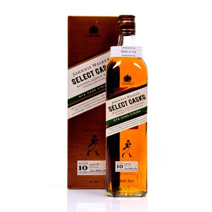 Johnnie Walker Select Casks Rye finish 10 Jahre  46.00% 0,70l Produktbild