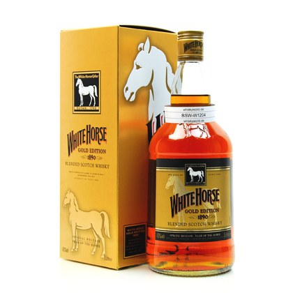 White Horse Gold Edition Special 2014 Year of the Horse 1 Liter/ 43.00% Vol