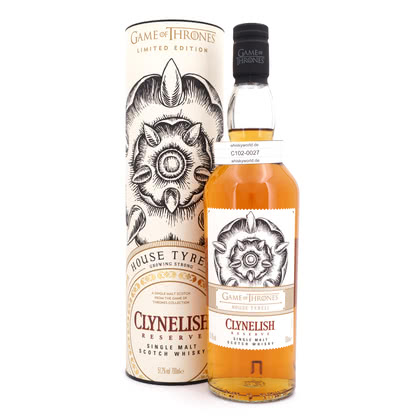 Clynelish Reserve Game of Thrones House Tyrell  51.20% 0,70l Produktbild