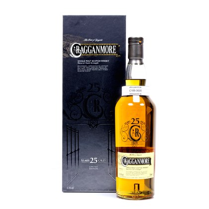 Cragganmore 25 Jahre Natural Cask Strength 51.40% 0,70l Produktbild