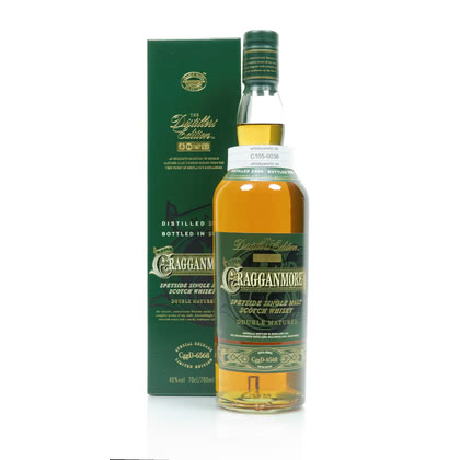 Cragganmore Distillers Edition Port Wine Cask Wood finish Jahrgang 2004 40.00% 0,70l Produktbild