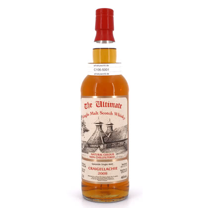 Craigellachie Jahrgang 2008 9 Jahre The Ultimate Single Cask Abfüllung first fill Sherry 0,70 Liter/ 46.00% Vol