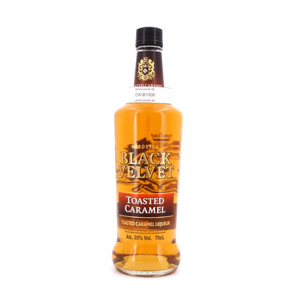 Black Velvet Toasted Caramel Whisky-Likör 0,70 Liter/ 35.00% Vol
