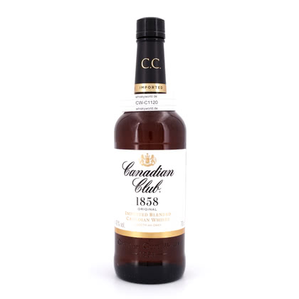 Canadian Club Blended Canadian Whisky  40.00% 0,70l Produktbild