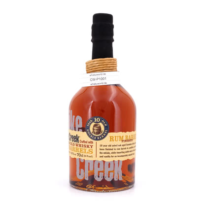 Pike Creek 10 Jahre finished in Rum Barrels 42.00% 0,70l Produktbild