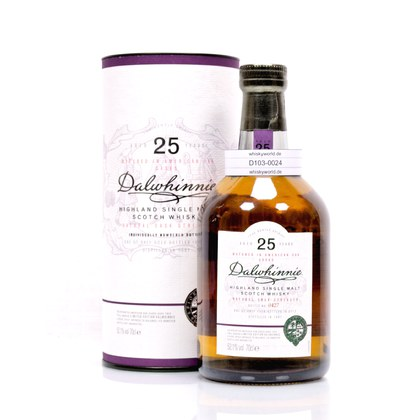 Dalwhinnie 25 Jahre Jahrgang 1987 Natural Cask Strength 0,70 Liter/ 52.10% Vol