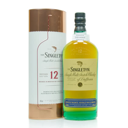 Dufftown 12 Jahre The Singleton of Dufftown 0,70 Liter/ 40.00% Vol