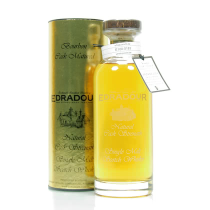 Edradour Natural Cask strenght Collection Jahrgang 2006 Bourbon Cask 59.80% 0,70l Produktbild