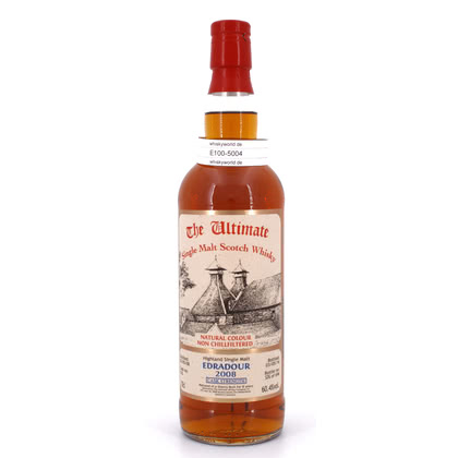 Edradour Jahrgang 2008 8 Jahre The Ultimate Single Cask Abfüllung Cask strength Sherry 0,70 Liter/ 60.40% Vol