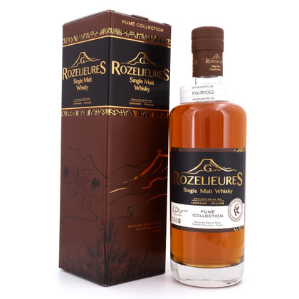 Rozelieures Single Malt Fume Collection  46.00% 0,70l Produktbild