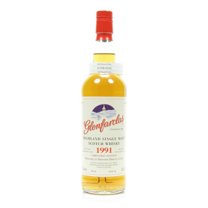 Glenfarclas Christmas Malt Jahrgang 1991 Matured in Oloroso Sherry Casks 0,70 Liter/ 46.00% Vol