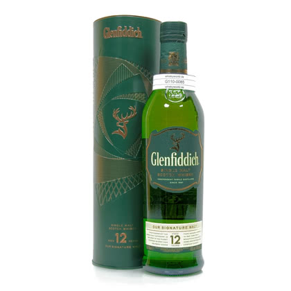 Glenfiddich 12 Jahre Our Signature Malt 0,70 Liter/ 40.00% Vol