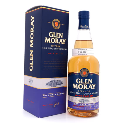 Glen Moray Port Cask finish  40.00% 0,70l Produktbild