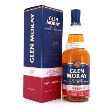 Glen Moray Sherry Cask Finish  40.00% 0,70l Produktbild