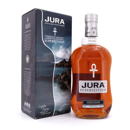 Isle of Jura Superstition lightly Peated Literflasche 43.00% 1l Produktbild
