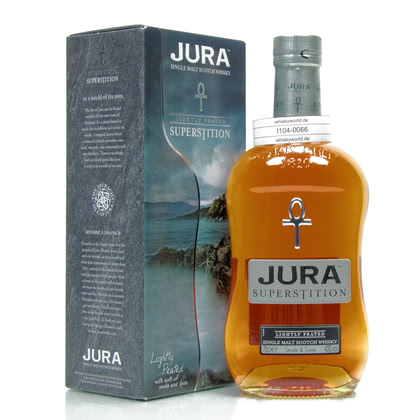 Isle of Jura Superstition lightly Peated  43.00% 0,70l Produktbild