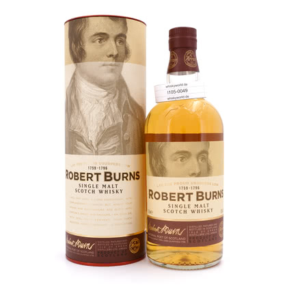 Isle of Arran The Arran Malt Robert Burns Edition 43.00% 0,70l Produktbild