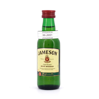 Jameson Irish Whiskey  0,050 Liter/ 40.00% Vol