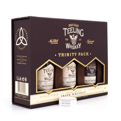 Teeling Collection beinhaltet Small Batch, Single Grain & Single Malt je 0,05l 46.00% 0,150l Produktbild