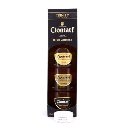 Clontarf Set Single; Reserve & Black je 0,20l 40.00% 0,60l Produktbild